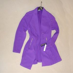 Blazer Jacket Coat Purple Womens NEW with TAG 18W